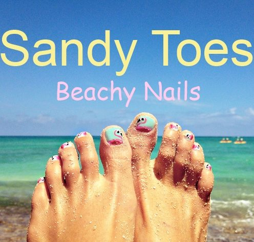 Beach Toe Nails