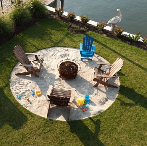 Backyard Beach Bonfire Pit