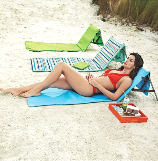 Beach Mat with Backrest