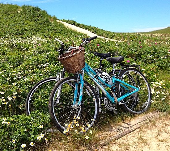 Biking on Nantucket