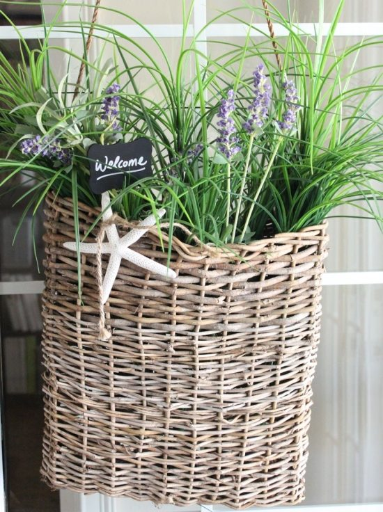 Cottage Wall Basket
