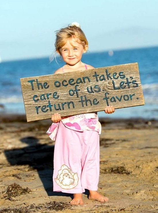 Take Care of the Ocean Photo