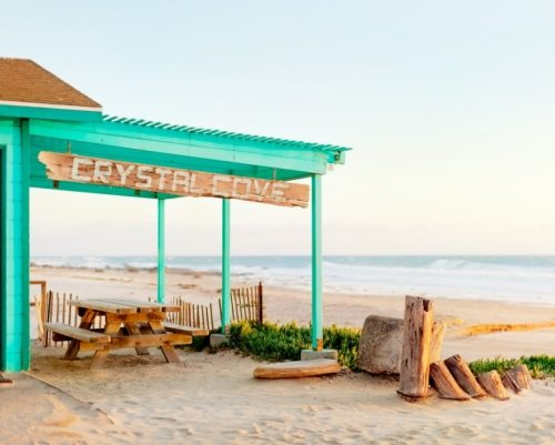 Crystal Cove Beach CA