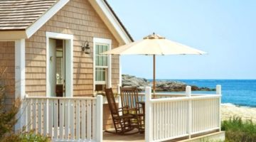 Chic Cozy Beach Cottages at Castle Hill Inn, Newport RI