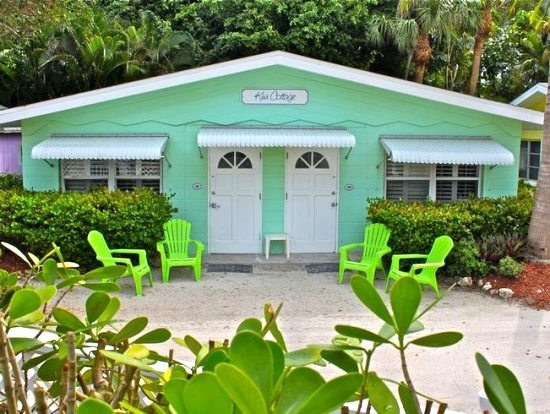 Lime Green Beach Cottage