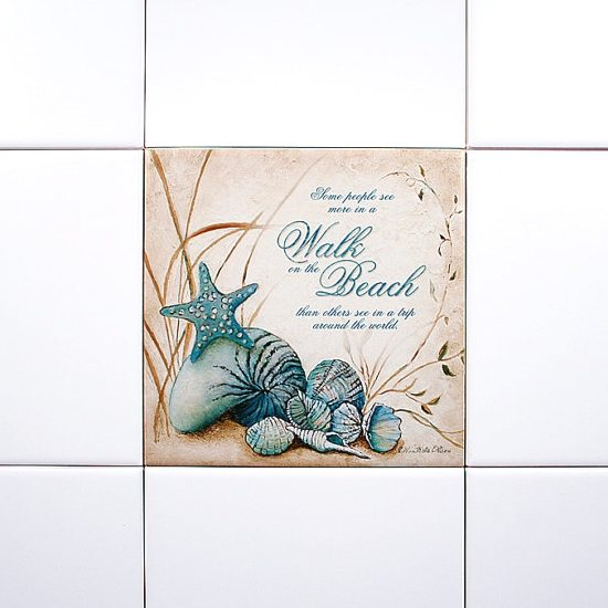 Beach Art Tile