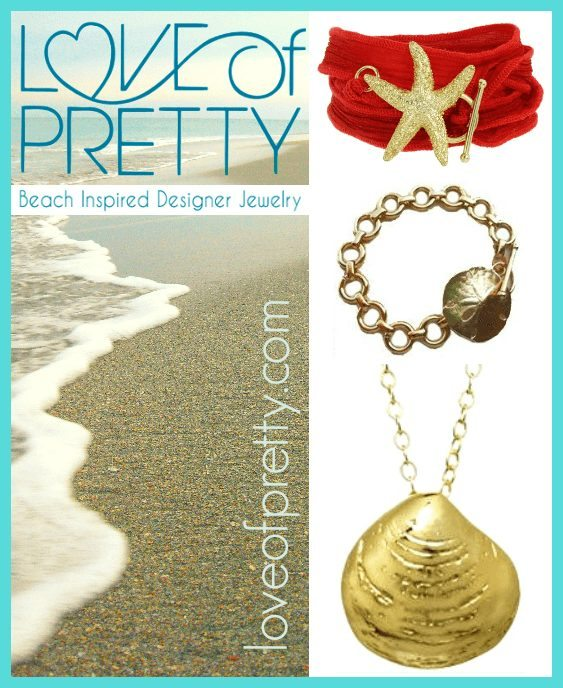 Love of Pretty Beach Jewelry