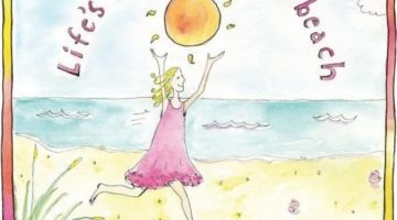 Beach Wisdom & Illustrations by Artist Sandy Gingras