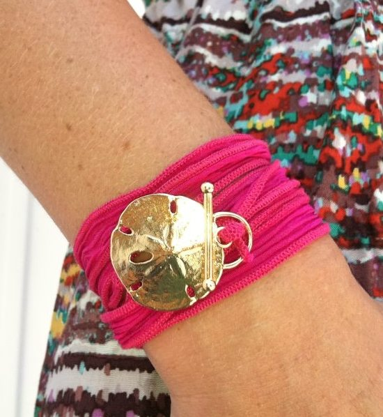 Beach Silk Wrap Bracelet