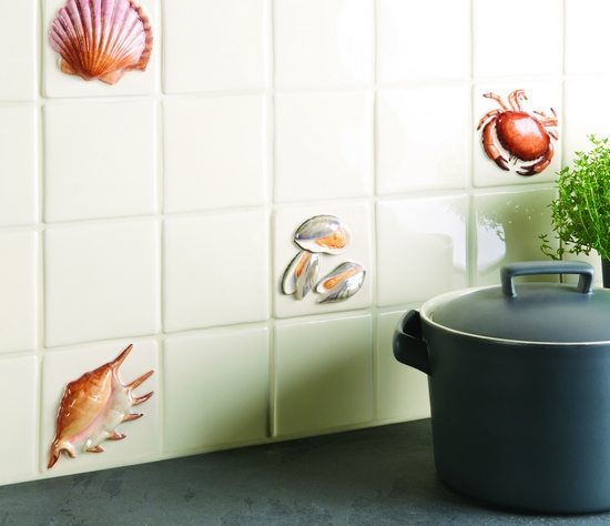 La Belle Collection Seashell Tiles