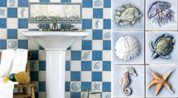 Beach Tile Art – A Splash of Beach Themed Tiles