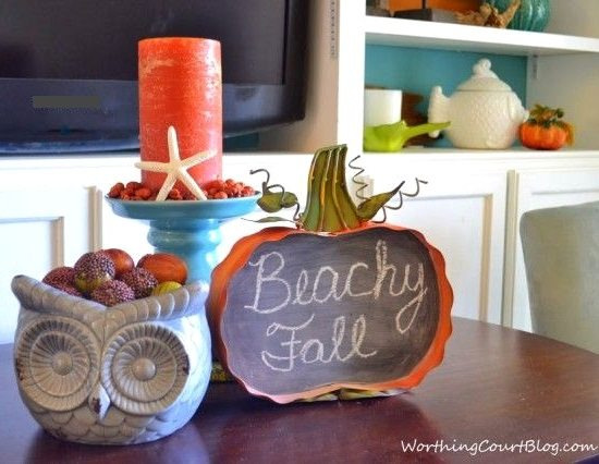 Fall Beach Decor