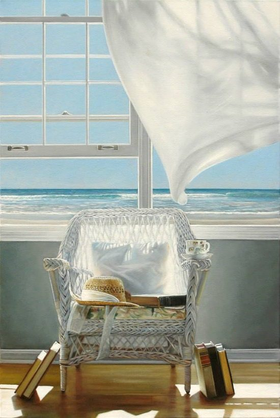 Window Ocean View by Karen Hollingsworth
