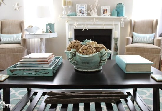 Easy Breezy Living In An Aqua Blue Cottage Beach Bliss Living Decorating And Lifestyle Blog