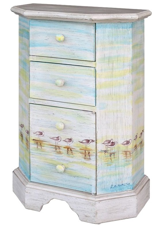 Art Amp Function With Beach Furniture Painted Dressers