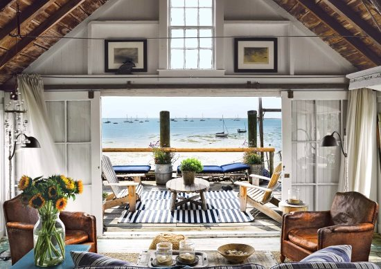 Beach Shack on the Pier in Provincetown Cape Cod MA