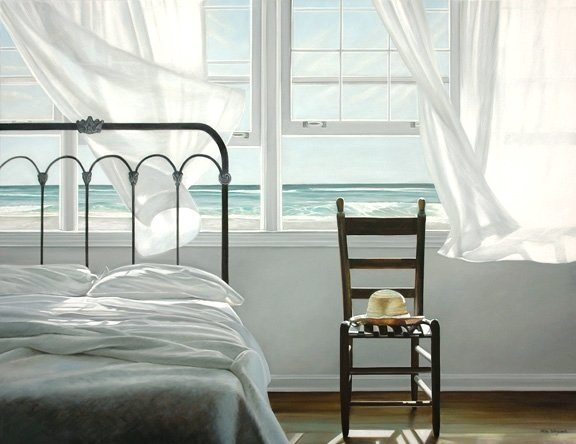 Dream Ocean View Bedroom Painting
