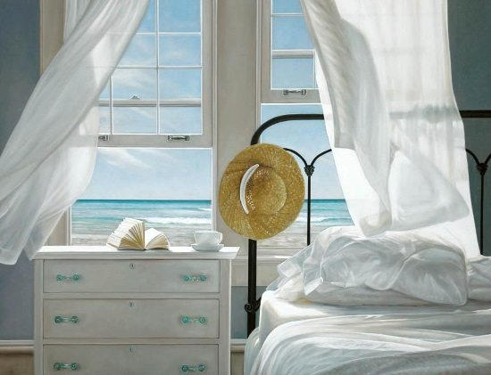 Room with a Beach View Painting