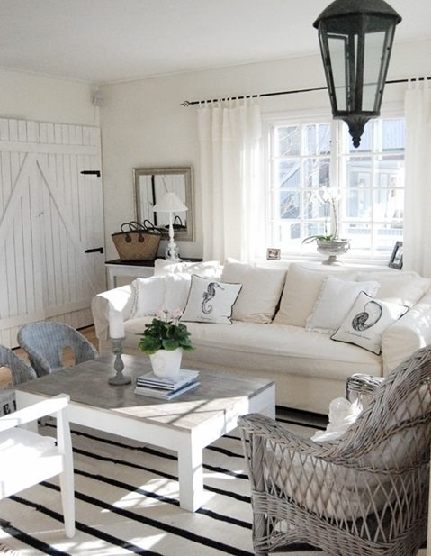 Coastal style shabby chic beach cottage style Decorating your home shabby chic cottage style