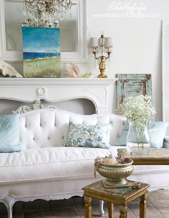 Shabby Chic Beach Cottage Ideas