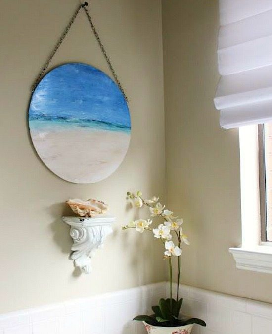 Beach Vacation Memory Painting