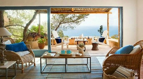 Simple Mediterranean Style Island Living On Tranquil Formentera Beach