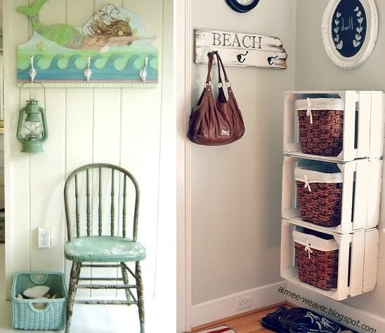 Basket Storage Ideas Entry Hallway