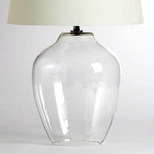 Cloche Glass Table Lamp