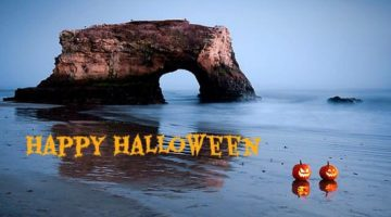 Happy Halloween from the Beach