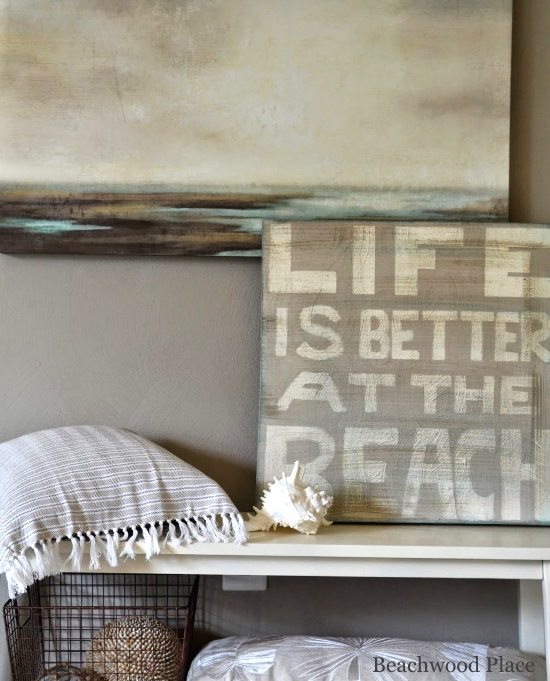 Life Is Better At The Beach DIY Sign