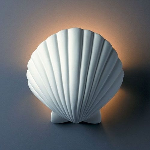 Shell Wall Sconce Light