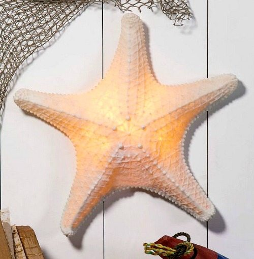 Starfish Wall Sconce Lamp