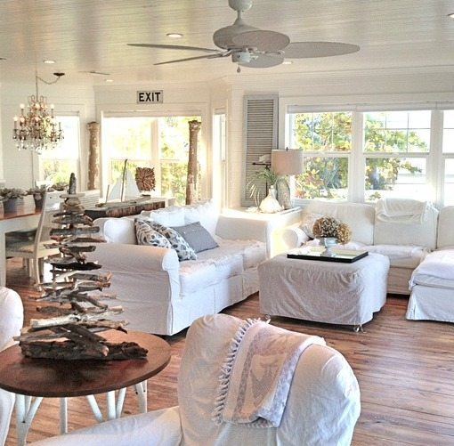 beach cottage decor.htm pure white decor in a remodeled vintage beach cottage on anna  remodeled vintage beach cottage