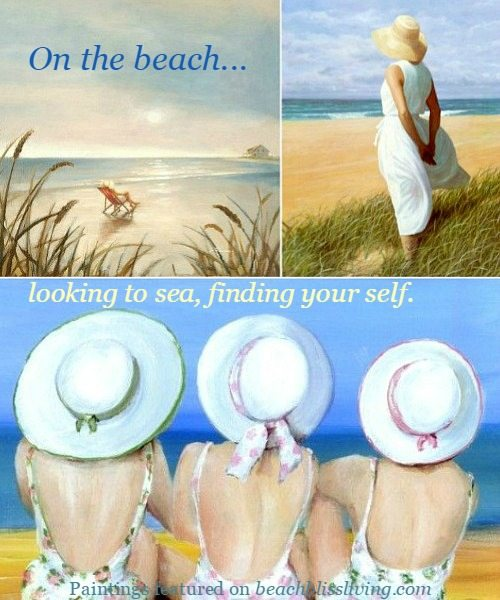 Women on the Beach Paintings