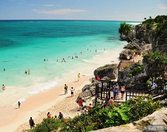 Tulum Beach and Ruins