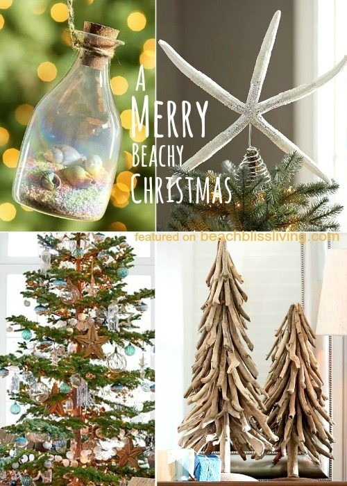 Beach Christmas Decorations from Pottery Barn