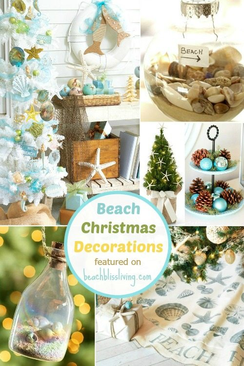 Christmas Decorations For The Beach House : Beach christmas decorations ideas inspired by sea sand