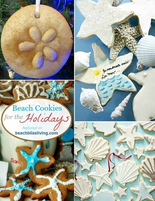 Beach Cookies for Christmas