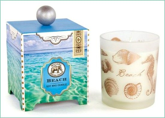 Beach Gift Candle