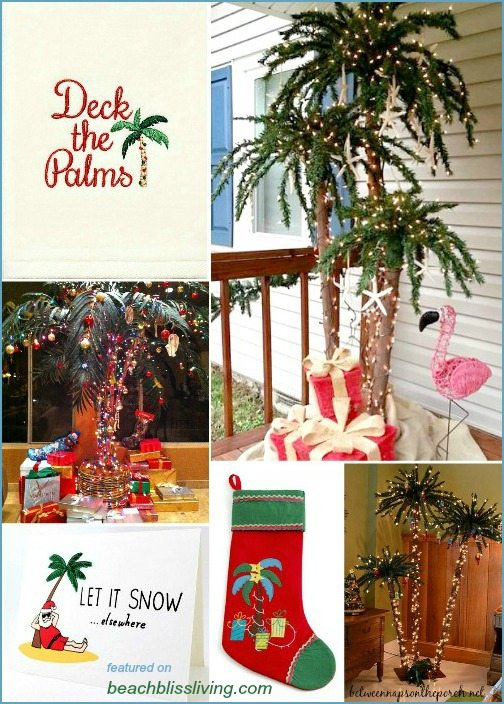 Decorating Palm Trees For Christmas