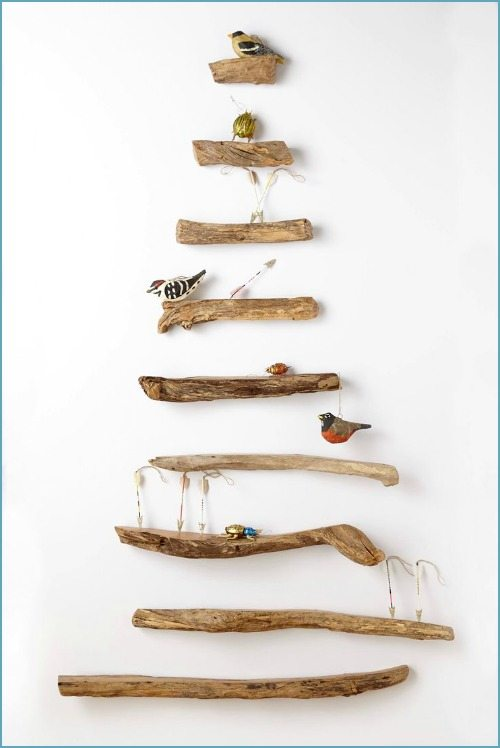 Driftwood Shelf Tree