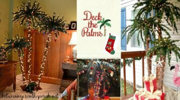 Deck the Palms – Palm Christmas Trees & Decorations to Create a Tropical Oasis