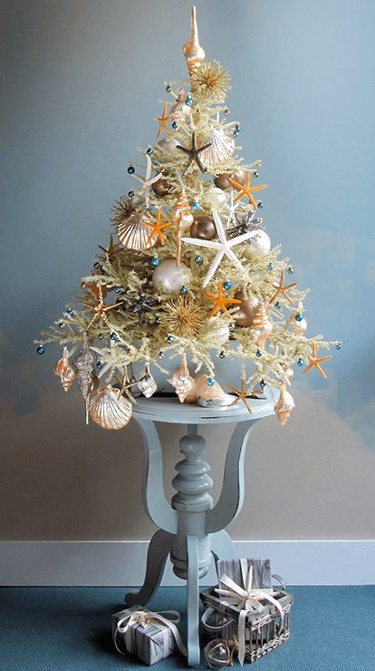 Summer Beach Mini Christmas Tree