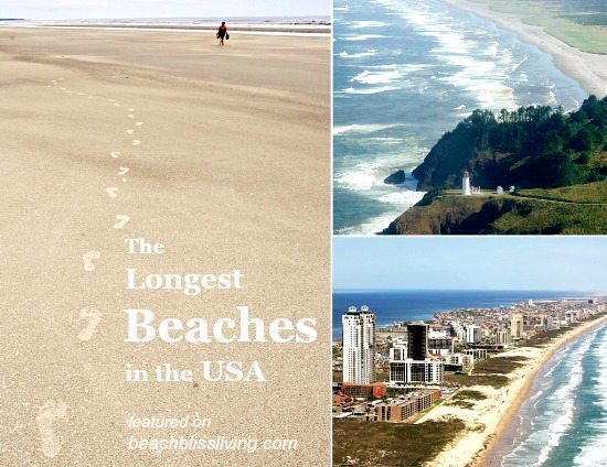 The Longest Beaches in the US