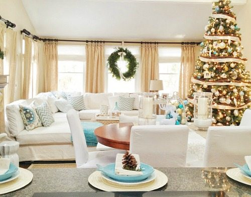 Christmas Cottage in Marblehead MA