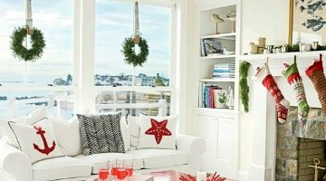 Beach Cottage Christmas Decor
