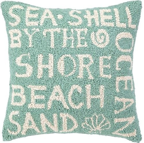 Beach Word Pillow