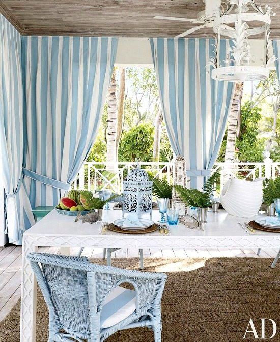 Cabana Stripe Curtains