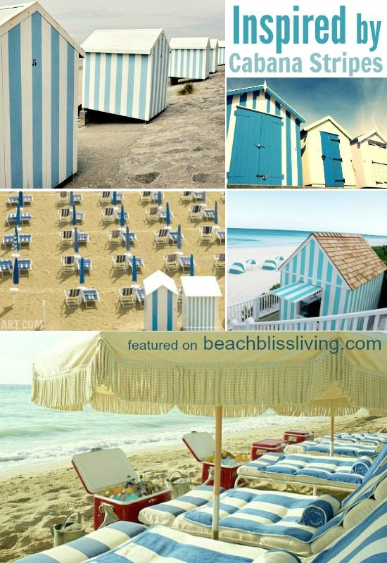 Beach Cabana Stripes Inspiration