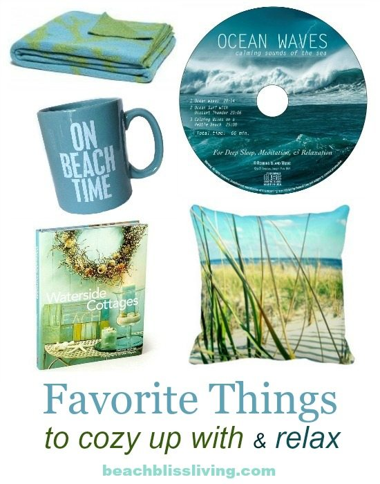 Favorite Beach Relaxation Things